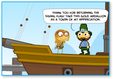 Completing Early Poptropica Walkthrough