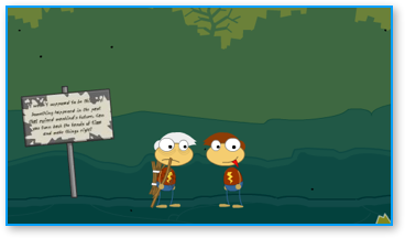 Poptropica Time Tangled Island