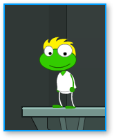 "The Poptropica ""alien"" suit"