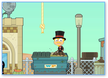 Arrival in Reality TV Island on Poptropica