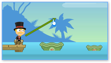 Poptropica Turtle Shell Toss 20 points