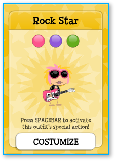 Poptropica Rock Star Outfit