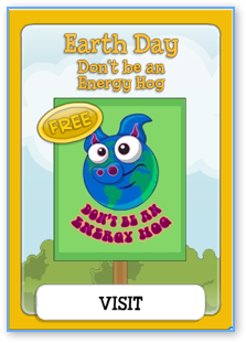 Earth Day Card in Poptropica