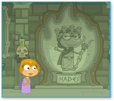 Temple of Hades in Poptropica Mythology Island