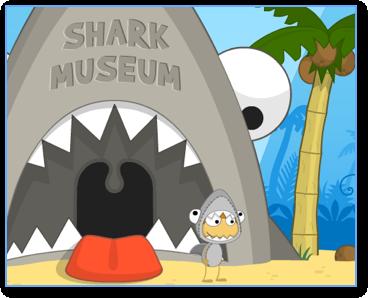 Poptropica Shark Museum