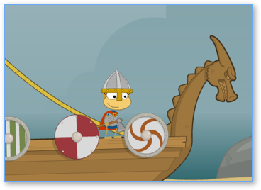 Poptropica Viking Ship