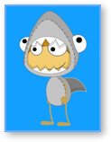 Poptropica Shark Boy Costume