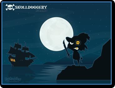 Skullduggery Island Wallpaper