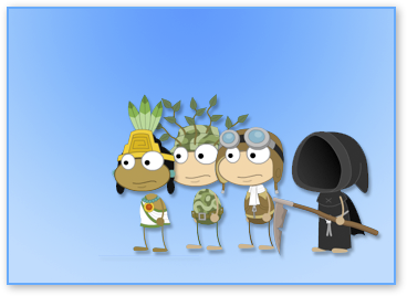 Four cool costumes for boys in Poptropica