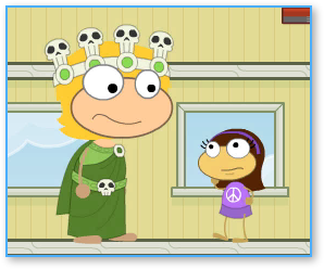 Poptropica hades crown big