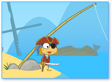 Skullduggery Pirate Costume in Poptropica