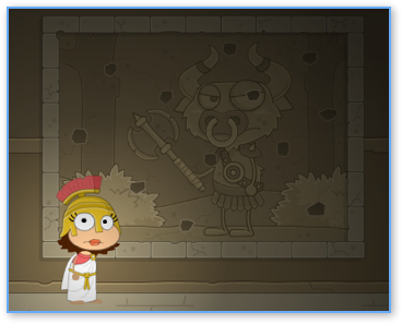 Cheat the Snake Puzzle in Poptropica Mythology Island