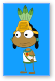 Aztec Priest Costume in Poptropica