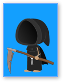 Grim Reaper Costume in Poptropica