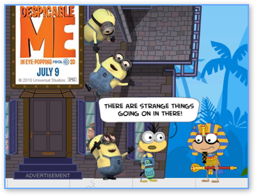 Poptropica Despicable Me Walkthrough