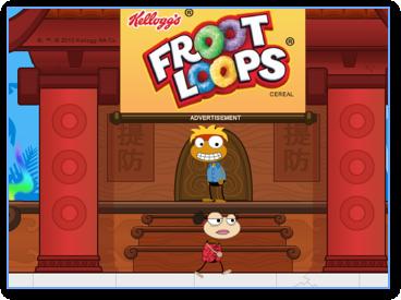 froot loops games play online