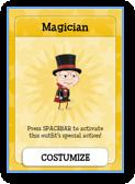 Poptropica Magician Costume