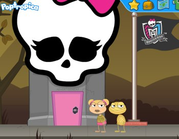 Monster High Advertisement in Poptropica
