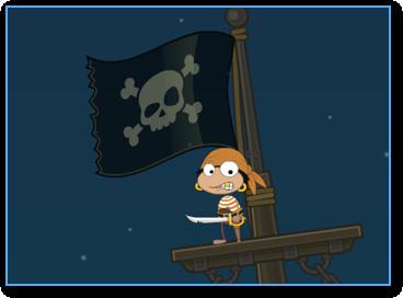 Jolly Roger in Poptropica