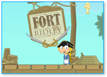 Poptropica Skullduggery Island