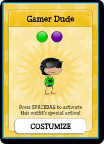 Poptropica Gamer Dude Costume