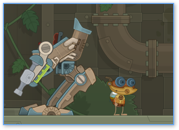 Steam Robot in Poptropica