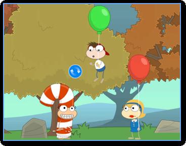 Poptropica Balloon Boy Takes Off