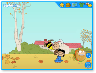 Great Pumpkin Island in Poptropica