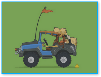 Poptropica SUV Side View