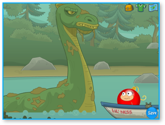 Loch Ness Monster in Poptropica