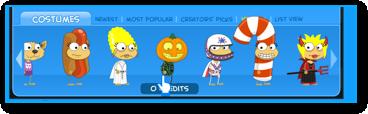 Poptropica Pumpkin Head Costume