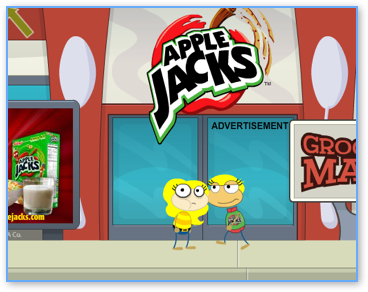 Poptropica Apple Jacks Advertisement Walkthrough