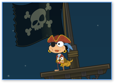 Poptropica Captain Cute Puppy