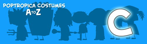 Poptropica Costumes - C
