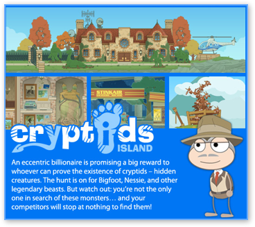 Poptropica Cryptids Island