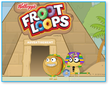 Poptropica Fruity Mummy Temple Ad Walkthrough