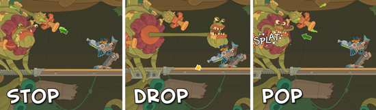 Poptropica stop drop pop