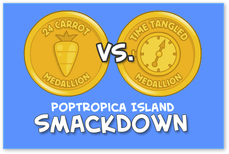 Poptropica Smackdown 24 Carrot vs. Time Tangled