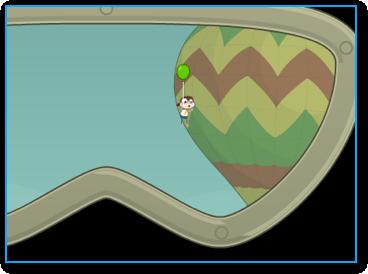 Ballon Boy in Cryptids Island