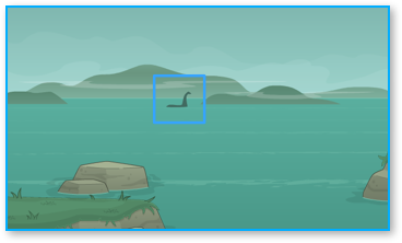 Spotting Nessie in Poptropica