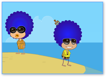Poptropica Disco Queen and King
