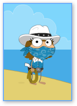 Poptropica Wild West Hero