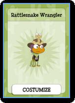 Poptropica Rattlesnake Wrangler