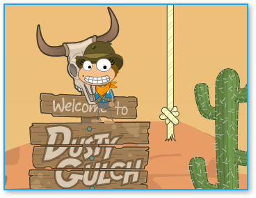Poptropica Wild West Island