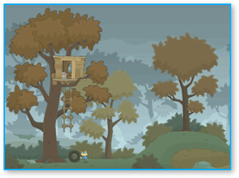 Magic Treehouse in Poptropica