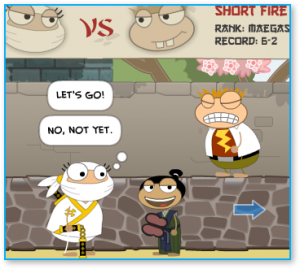 Poptropica Red Dragon Island Sumo Wrestling