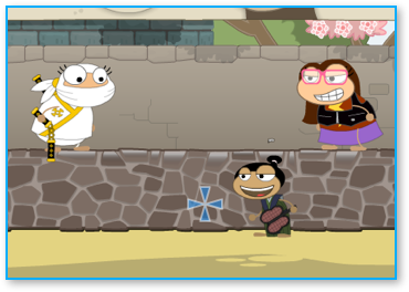 Poptropica Sumo Battle