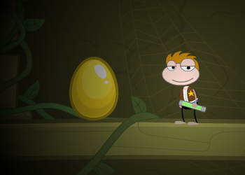 Finding the Golden Egg in Poptropica