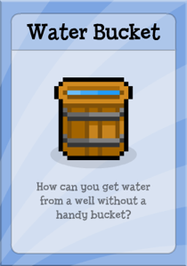 Poptropica Water Bucket