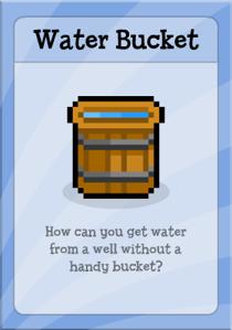 Poptropica Water Bucket